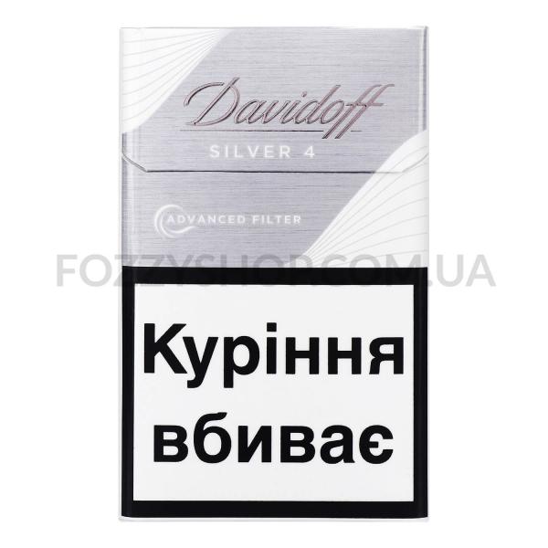 Сигареты Davidoff Advanced Filter Silver 4
