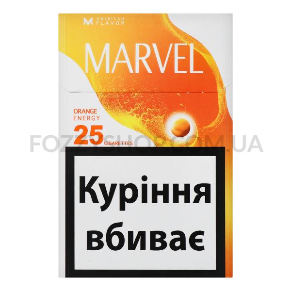 Сигареты Marvel Orange Energy 25