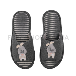 Тапки женские TwinsHS-VL Gray rabbit р.36-37