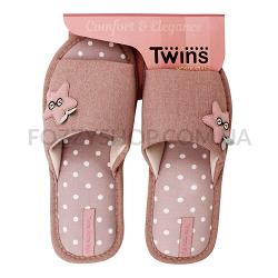 Тапки женские TwinsHS-VL Pink star р.38-39