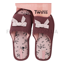 Тапки женские TwinsHS-VL purpul р.38-39