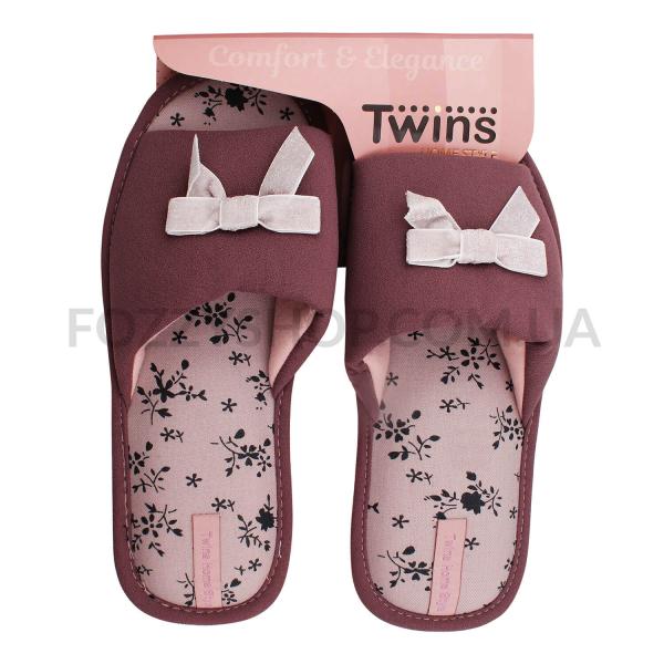 Тапки женские TwinsHS-VL purpul р.40