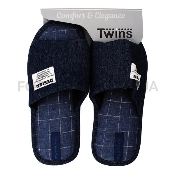 Тапки мужские Twins HS-VL джинс р.40-41