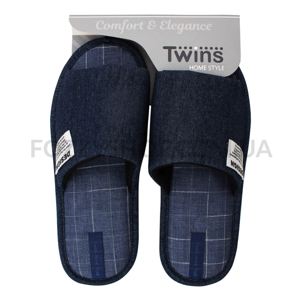 Тапки мужские Twins HS-VL джинс р.42-43