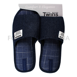 Тапки мужские Twins HS-VL джинс р.44-45