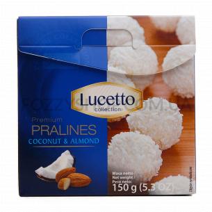 Конфеты Lucetto Luksza пралине миндаль-кокос