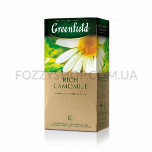 Чай травяной Greenfield Rich Camomile
