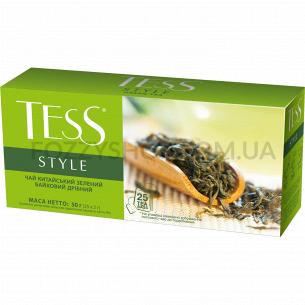Чай зелений Tess Style