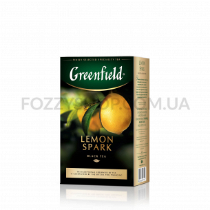 Чай чорний Greenfield Lemon...