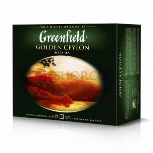 Чай чорний Greenfield...