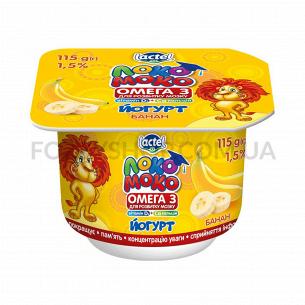 Йогурт Локо Моко банан 1,5%...