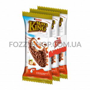 Бисквит молочный Kinder Maxi King карамель