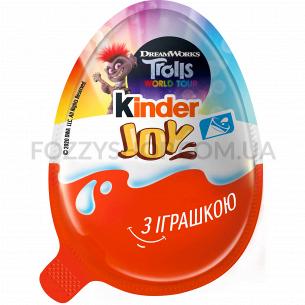 Яйцо шоколадное Kinder Джой с сюрпризом  для девочек
