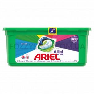 Капсулы для стирки Ariel Pods Все-в-1 Color, 30 шт