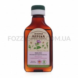 Масло для волос Зеленая Аптека Репейное с протеинами пшеницы