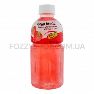 Напиток MoGu MoGu с Ната де Коко и вкусом клубники