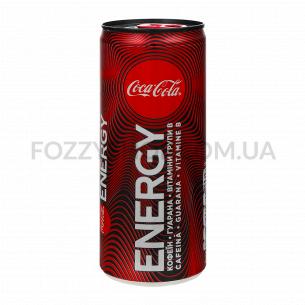 Напиток энергетический Coca-Cola Energy безалкогольный ж/б