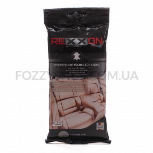 Салфетки влажные Rexxon для очистки кожаного салона