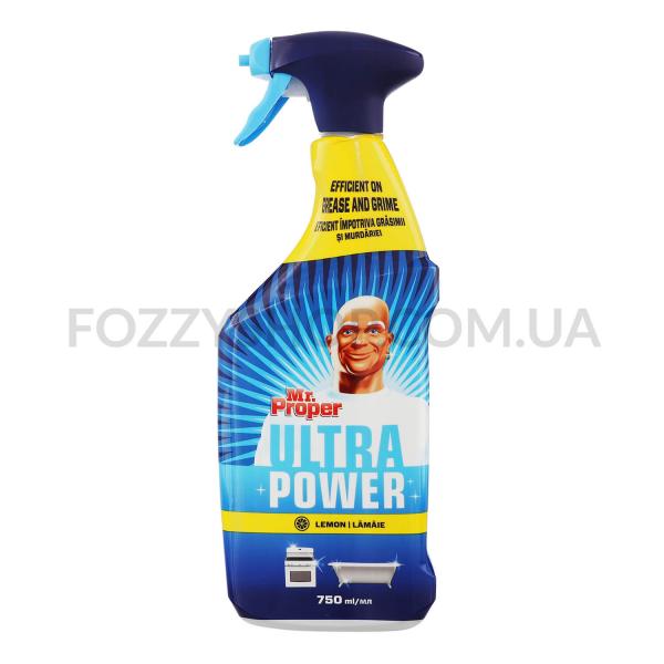 Спрей для чистки Mr.Proper Ultra лимон универсальный
