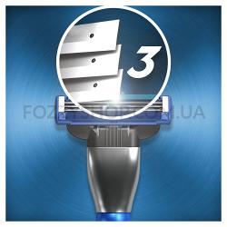 Бритва Gillette Mach3 Turbo 3D с 2 сменными кассетами
