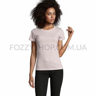 Женская футболка SOL`S REGENT FIT WOMEN, тепло-розовый