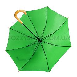 Зонт-трость, зеленый