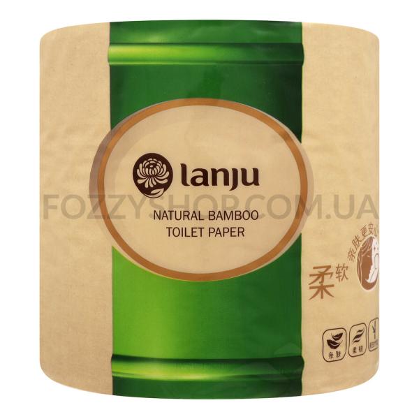 Бумага туалетная Lanju бамбук