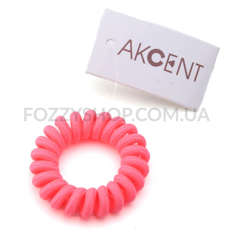 Резинка для волос Akcent Пружинка, текстиль RS6070