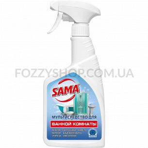 Средство Sama моющее для ванной комнаты, спрей