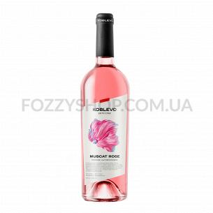 Вино Коблево Мускат розовое...