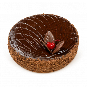 Торт БКК Празький з вишнею