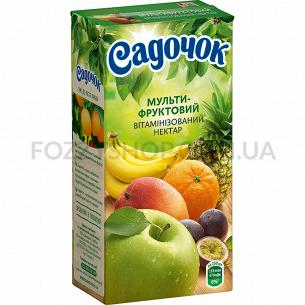 Нектар Садочок мультифрукт т/п