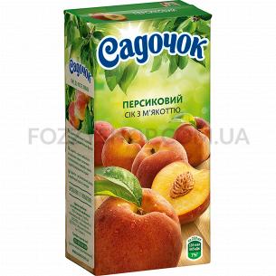 Сок Садочок персиковый с...