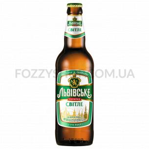 """Пиво """"Львівське Світле"""" світле"""