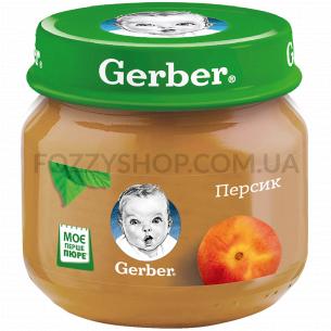Пюре Гербер персик 80г