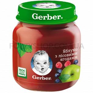 Пюре Гербер яблуко з...