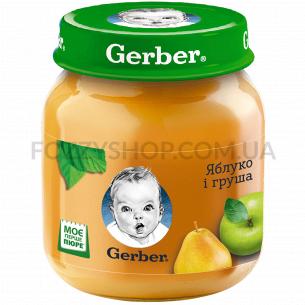 Пюре Гербер яблуко і груша...