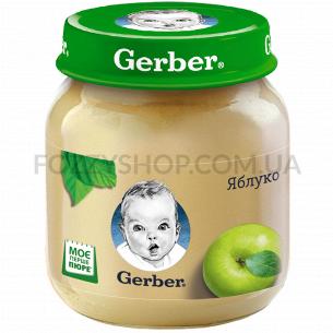 Пюре Гербер яблоко 130г