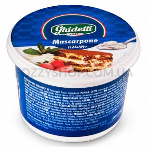 Сыр Ghidetti Маскарпоне 42% из коровьего молока