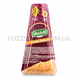 Сыр Ghidetti Грана Падано 42% 10мес из коровьего молока