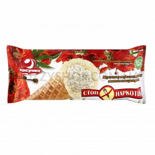Мороженое Лакомка Стоп Наркотик молочная глазурь рожок
