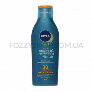 Лосьон солнцезащитный Nivea Защита и прохлада SPF30