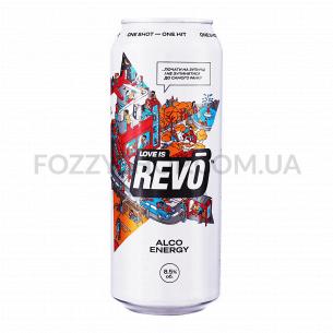 Напиток энергетич Revo Лимитированная версия с/а ж/б