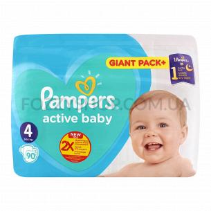 Подгузники Pampers Active Baby Maxi 9-14кг
