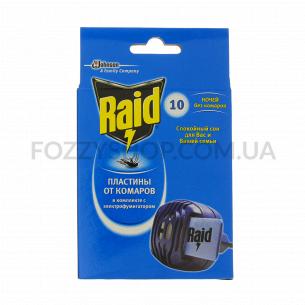 Электрофумигатор Raid + 10 пластин против комаров