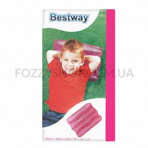Подушка Bestway Wave надувная 38х25х5 4 цвета 52127b
