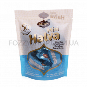 Халва Achva без сахара с подсластителем кошерная
