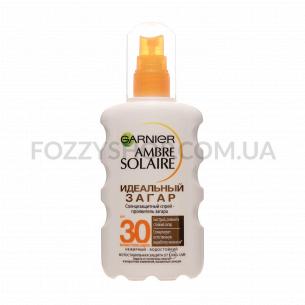 Спрей солнцезащитный Garnier Ambre Solaire Идеальный Загар SPF30