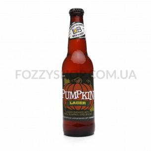 Пиво Lakefront Pumpkin Lager янтарное