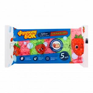 Губки кухонные Фрекен Бок Strawberry